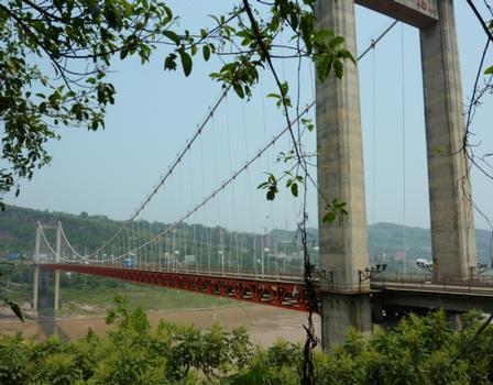 Hängebrücke Fengdu