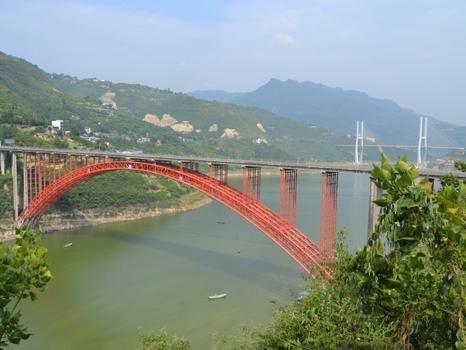 Fengjie Meixi River Bridge
