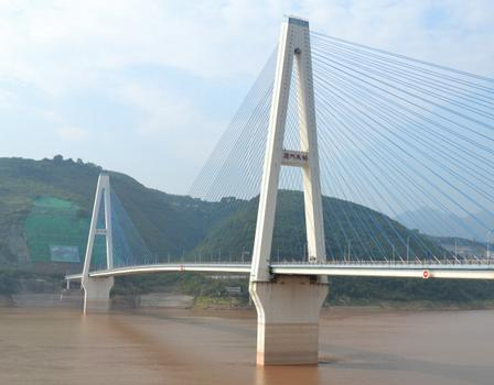 Pont de Fengjie sur le Yangtsé