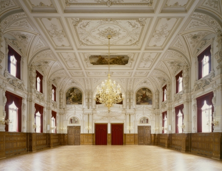 Festsaal des Oldenburger Schlosses
