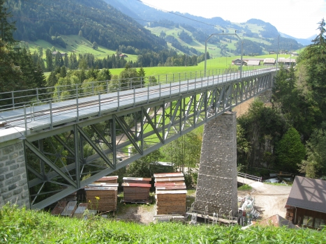 Viaduc ferroviaire de Flendruz