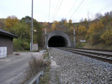 Westportal des Freudensteintunnels, Teil der der Schnellfahrstrecke Mannheim-Stuttgart