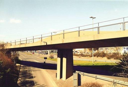 U-Bahn-Hochbrücke Nürnberg-Fürth