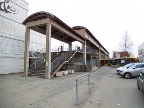 Fußgängerbrücke zum Einkaufszentrum City Syd