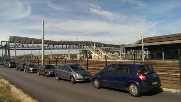 Bahnhofssteg Blois