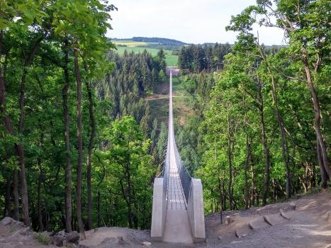 Passerelle suspendue de Geierlay