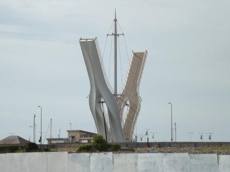 Foryd Harbour Footbridge