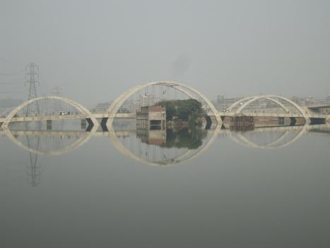 Dritte Hatirjheel-Brücke