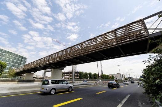 Geh- und Radwegbrücke Rueil-Malmaison über die A86