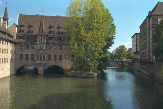 Heilig Geist Spital à Nuremberg, Allemagne