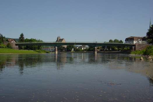 Weserbrücke Stahler Ufer