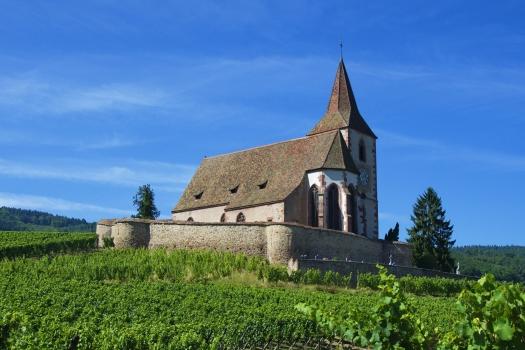 Église Saint-Jacques-le-Majeur de Hunawihr