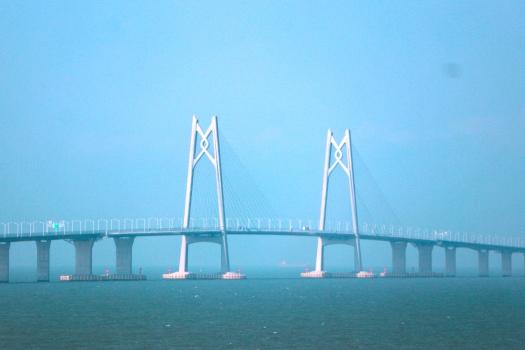 Pont sur le chenal Qingzhou