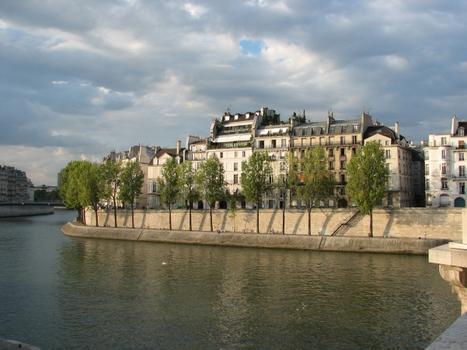 Île Saint-Louis - Quai d'Orléans (Paris)