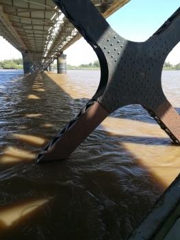 Pont sur le Nil bleu