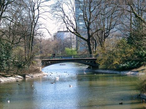 Goldene Brücke, Hofgarten, Düsseldorf