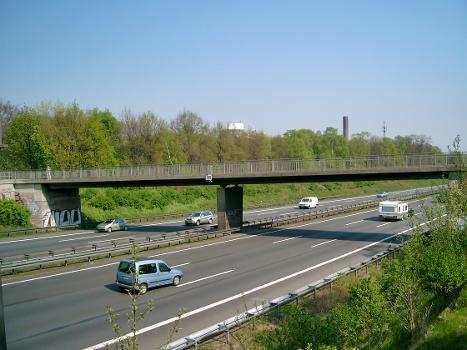 Brücke am Aktienweg über die Autobahn A3, Duisburg