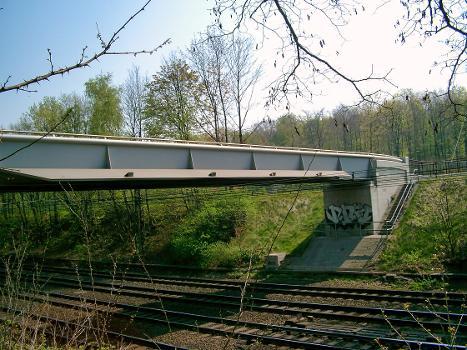 Brücke Forsthausweg über die Eisenbahn, Duisburg