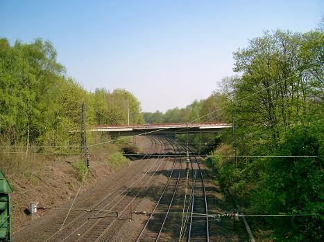 Brücke zur Universität, Duisburg