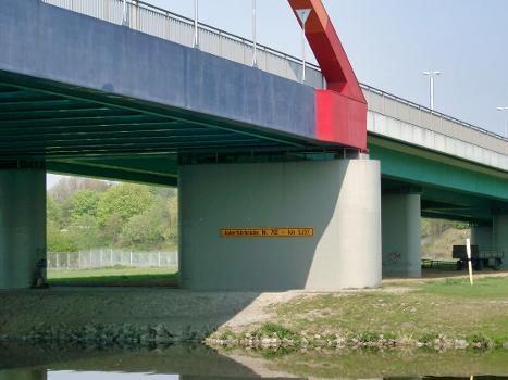 Aakerfährbrücke, Duisburg