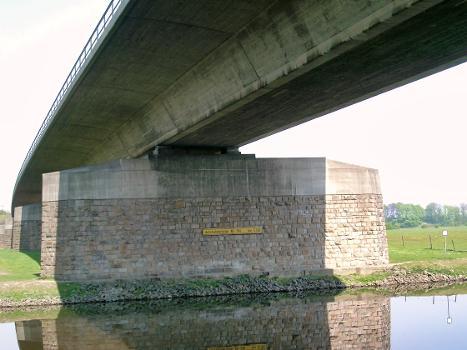 A3, Autobahnbrücke über die Ruhr, Duisburg