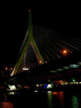 Leonard P. Zakim Bunker Hill Bridge, Boston, Massachusetts