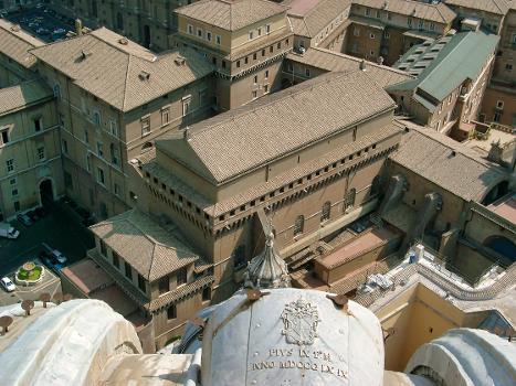 Sistine Chapel, Musées du Vatican, Vatican, Rome.