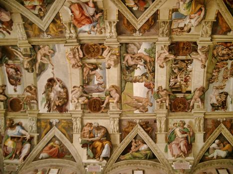 Sistine Chapel, Vatican Museums, Vatican City, Rome
