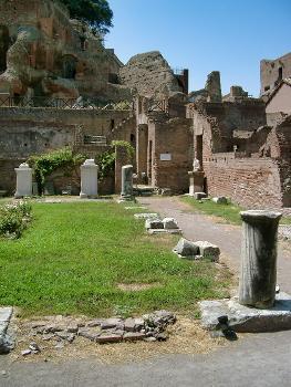 Haus der Vestalinnen, Forum Romanum, Rom