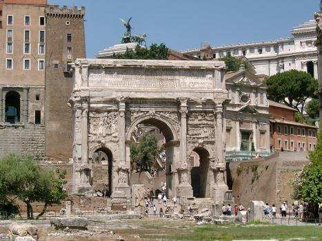 Arc de Septime Sévère, Forum Romanum, Rome