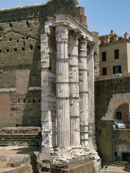 Temple of Mars, Forum of Augustus, Rome
