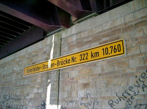 Osterfelder-Strassen-Brücke (Nr. 322), Rhein-Herne-Kanal, Oberhausen