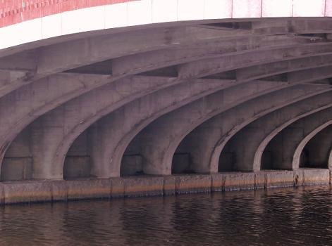 Elliot Bridge, Cambridge/Boston, Massachusetts.