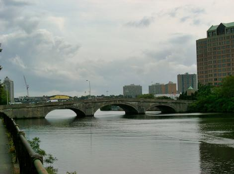 River Street Bridge, Boston, Massachusetts.