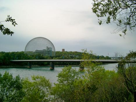 Pont du Cosmos, Montréal, Québec
