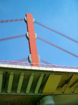 Autobahn A42 – Beeckerwerther Brücke, Duisburg