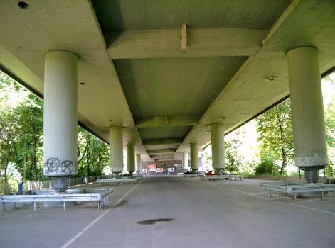 Berliner Brücke, Duisburg –  Nördliche Vorlandbrücke