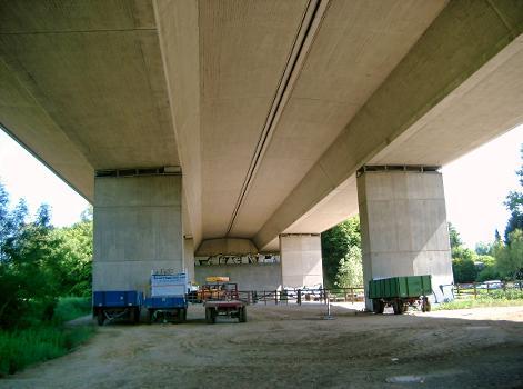 Autobahn A3 Düsseltalbrücke (Neandertalbrücke)