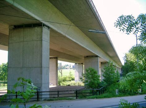 Autobahn A3 –  Düsseltalbrücke (Neandertalbrücke)