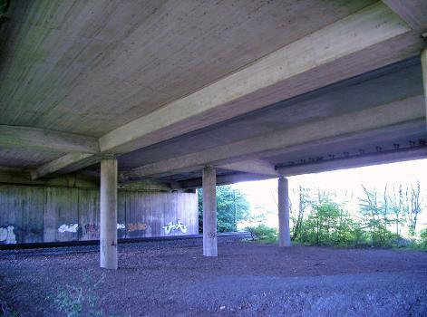 Autobahn A524 – Autobahnbrücke Ratingen-Lintorf