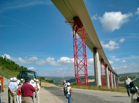 Autoroute A75  Millau-Viadukt