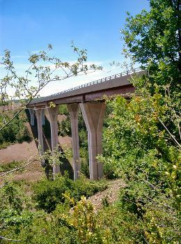 Autoroute A75 Viaduc de la Garrigue