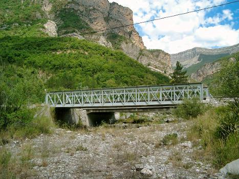 Train des Pignes Railroad bridge near Chaudon-Norante