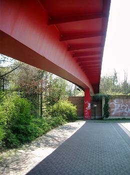Passerelle, Carl-Sonnenschein-Strasse, Düsseldorf
