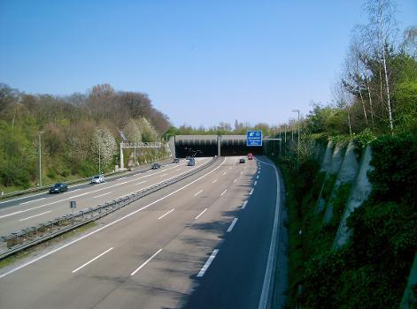 Autobahn A44 – Flughafentunnel, Düsseldorf