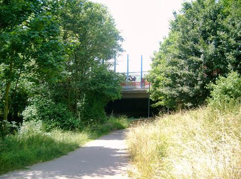 Passage sur le Kittelbach de l'A44
