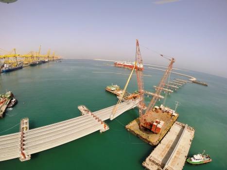 Jebel Ali Terminal 4 Causeway Bridge