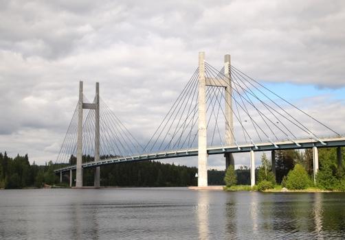 Kärkistensalmi-Brücke