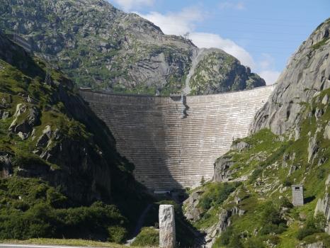 Spitallamm Dam