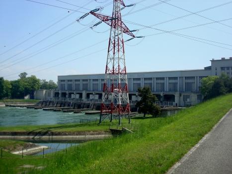 Wasserkraftwerk Kembs